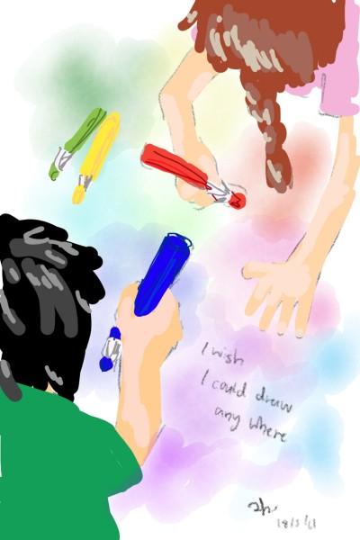 when I was a kid | Chuna | Digital Drawing | PENUP