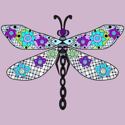 Dragonfly  | Trish | Digital Drawing | PENUP