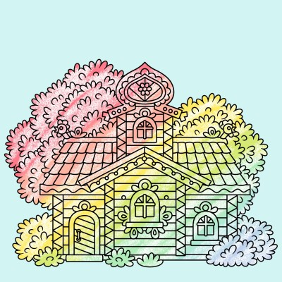 my house | Joy | Digital Drawing | PENUP