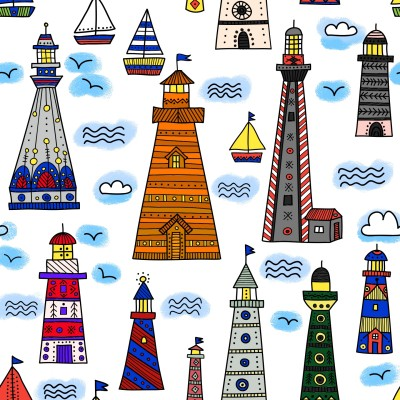 Lighthouses | Trish | Digital Drawing | PENUP