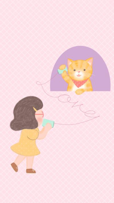 Paper cup telephone   greeda   Digital Drawing   PENUP