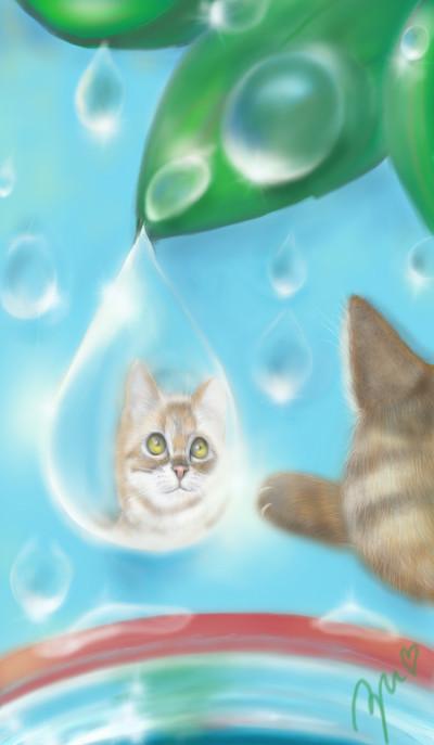 水遊び Water play  물놀이 | azu | Digital Drawing | PENUP