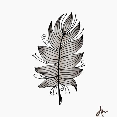 Feathered | ImpulsivePhotos | Digital Drawing | PENUP