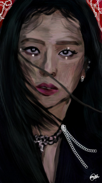 Kim Ji-soo/BLACKPINK ❤️⭐ | IREM.Aksoy | Digital Drawing | PENUP