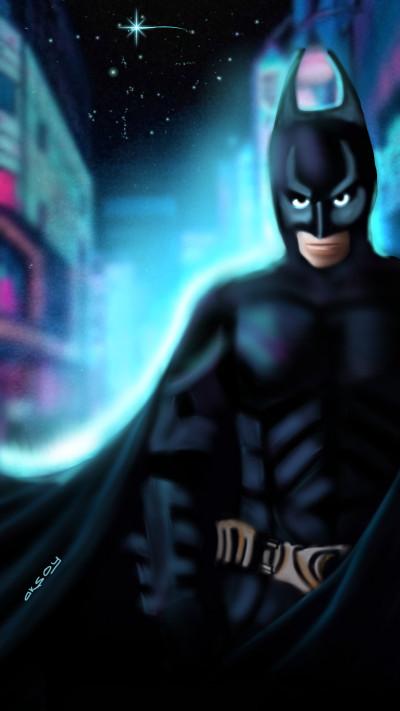My Superhero BATMAN  | aksoy | Digital Drawing | PENUP