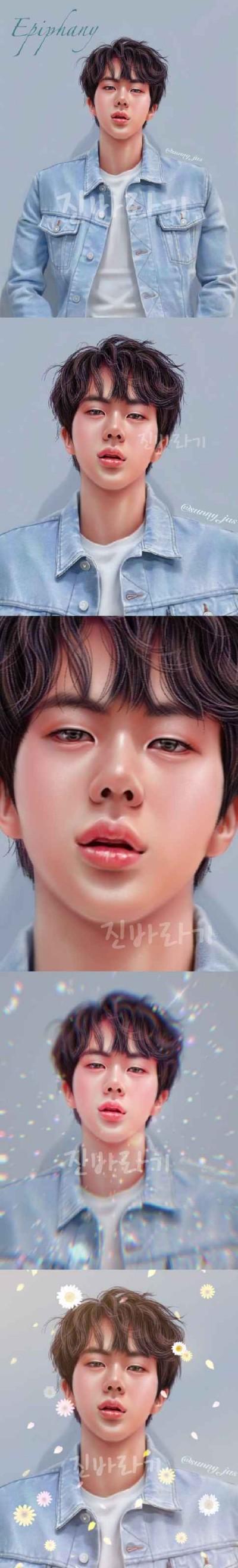 진♡♡ | Sunny-jus | Digital Drawing | PENUP