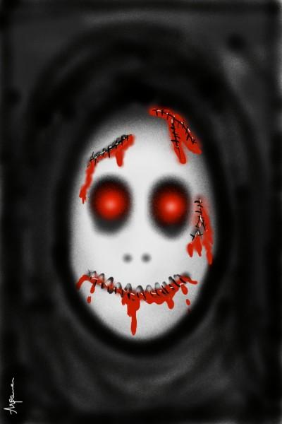 'lets draw horror' | arpu | Digital Drawing | PENUP