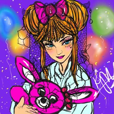 Coloring Digital Drawing | kitt | PENUP