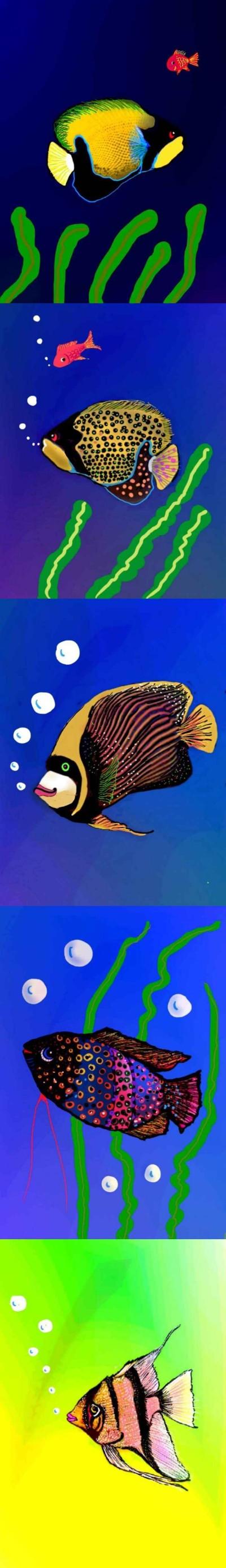 물고기   qweensara   Digital Drawing   PENUP