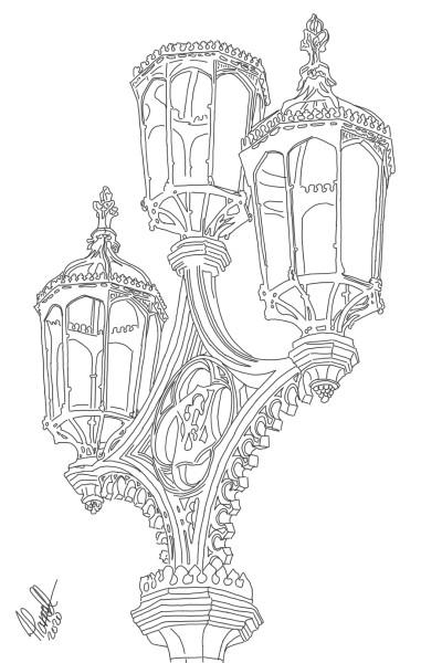 Street lamp - London | StevenCarroll | Digital Drawing | PENUP
