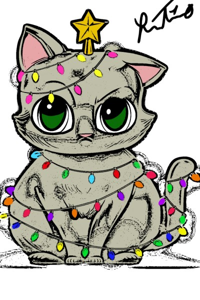 cat | reneet10 | Digital Drawing | PENUP