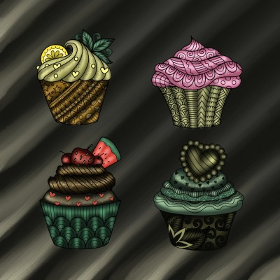 Cupcakes | JammyC | Digital Drawing | PENUP
