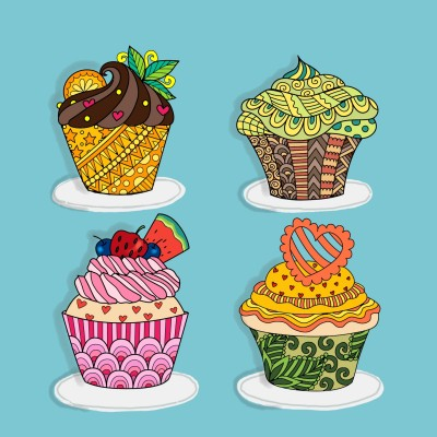 cupcakes | Diana | Digital Drawing | PENUP