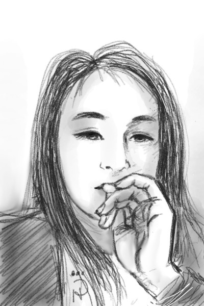 Portrait Digital Drawing | Nokhong | PENUP