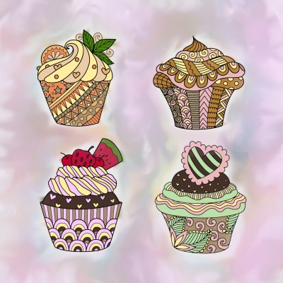 Cup-CAke-CaKe-CakEs!! | Mrs.B | Digital Drawing | PENUP