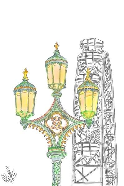 The London Eye | StevenCarroll | Digital Drawing | PENUP