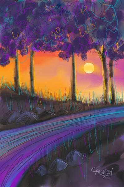 Landscape Digital Drawing | shadowmare72 | PENUP