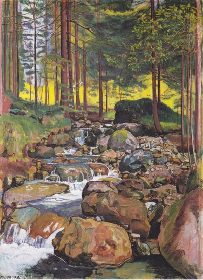 le ruisseau du tricheur | LZRwinslid | Digital Drawing | PENUP