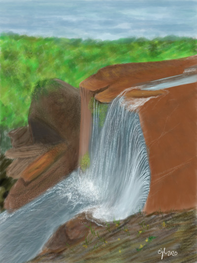 A River for Rashi | cici | Digital Drawing | PENUP