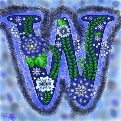 W | Jules | Digital Drawing | PENUP
