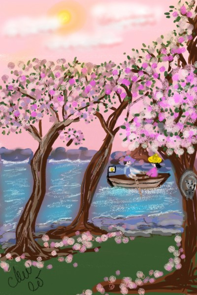 River date | Daisy-C.K.W. | Digital Drawing | PENUP