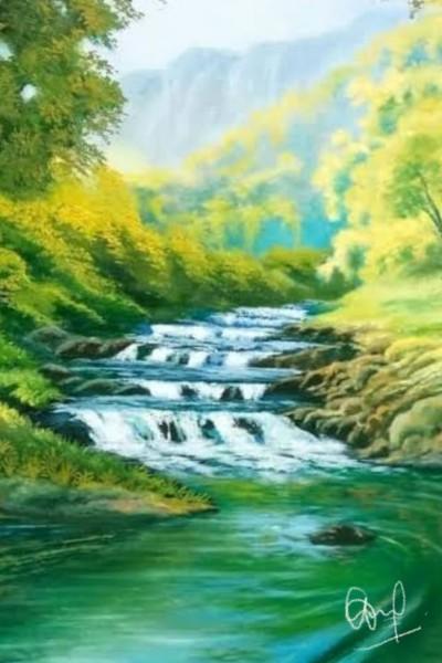 The River   _Starlie_   Digital Drawing   PENUP