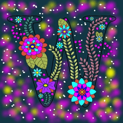 W | richard | Digital Drawing | PENUP