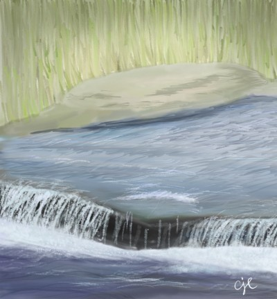 Peaceful River    cici   Digital Drawing   PENUP