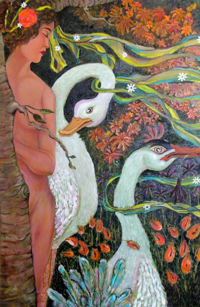 The Swan | FREDERICKDC | Digital Drawing | PENUP
