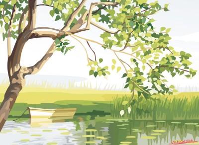 The river that runs in Nanima | Venkatesh | Digital Drawing | PENUP