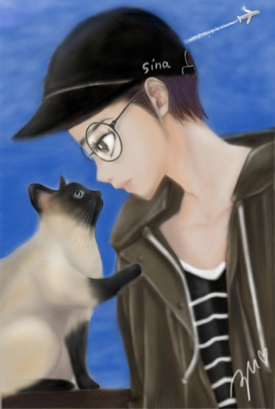 Thank you friend for♥Sina   azu   Digital Drawing   PENUP