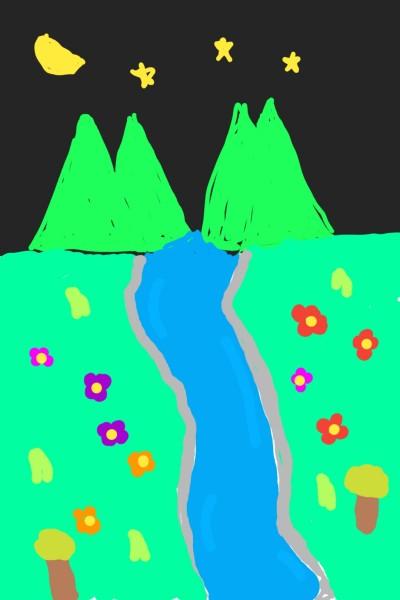 river | JACE | Digital Drawing | PENUP
