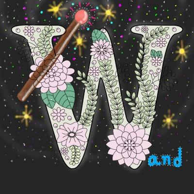 요술 지팡이 a magic wand  | jinhee | Digital Drawing | PENUP