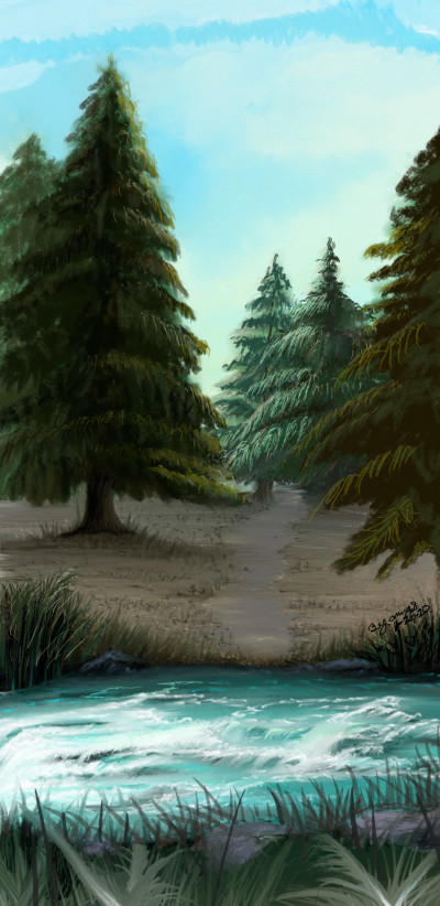 River Wild | TammyShannon | Digital Drawing | PENUP