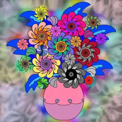 Coloring Digital Drawing   Lili   PENUP