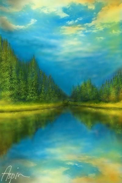 River   Aspin   Digital Drawing   PENUP