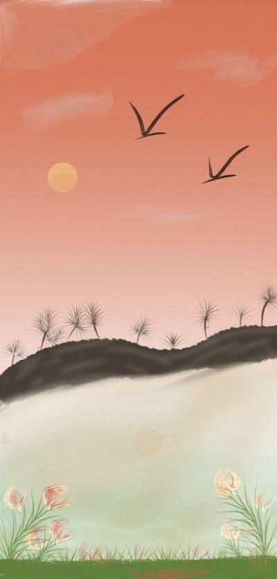 river | Venkatesh | Digital Drawing | PENUP
