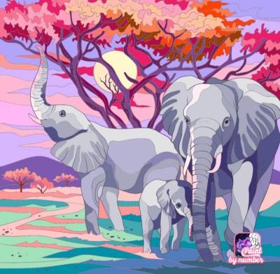 Éléphant  | richard | Digital Drawing | PENUP