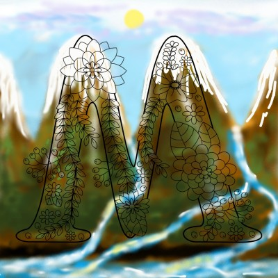 Landscape Digital Drawing | Mahwish | PENUP