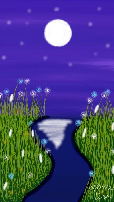 Small river  | lisa2706 | Digital Drawing | PENUP
