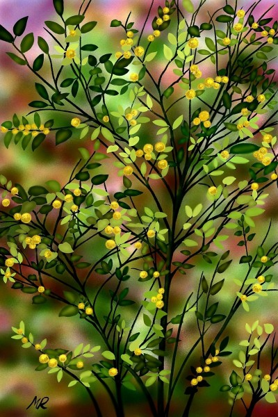 Spring Bush | marmencicamarin | Digital Drawing | PENUP