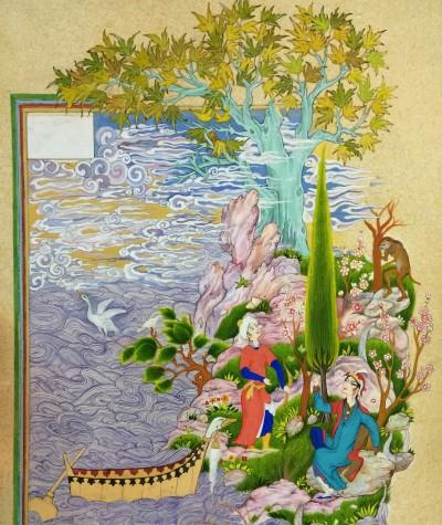 persian painting(lovers) | sitaArt | Digital Drawing | PENUP