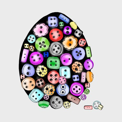 More Buttons  | Trish | Digital Drawing | PENUP