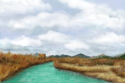köprüçay River (Turkey) | MonSouhait | Digital Drawing | PENUP