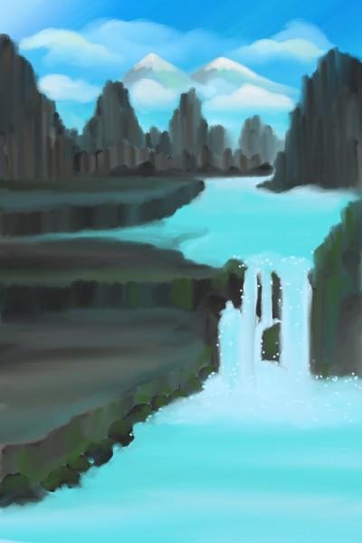Glacier   Diana   Digital Drawing   PENUP
