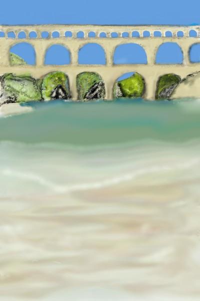 Roman bridge  | kiara | Digital Drawing | PENUP