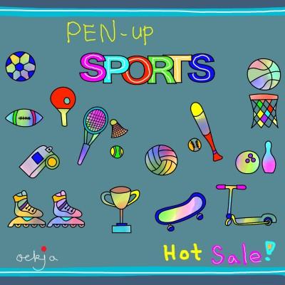 pen-up sports hot sale!♡ | ockja | Digital Drawing | PENUP