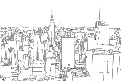 New York skyline | StevenCarroll | Digital Drawing | PENUP