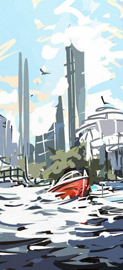 Landscape Digital Drawing   vlad   PENUP
