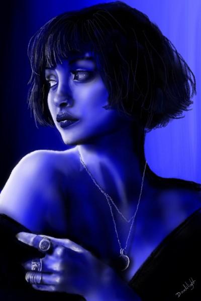 50 nuances de bleu | Doodilight | Digital Drawing | PENUP